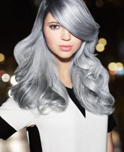 silver grey hair trend, Ascot hair salon