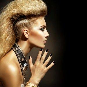 Quiffed fringes at basinstoke hair salon, hampshire