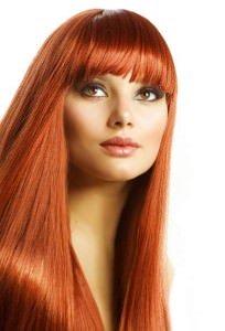Straight blunt fringes, basingstoke hair salon