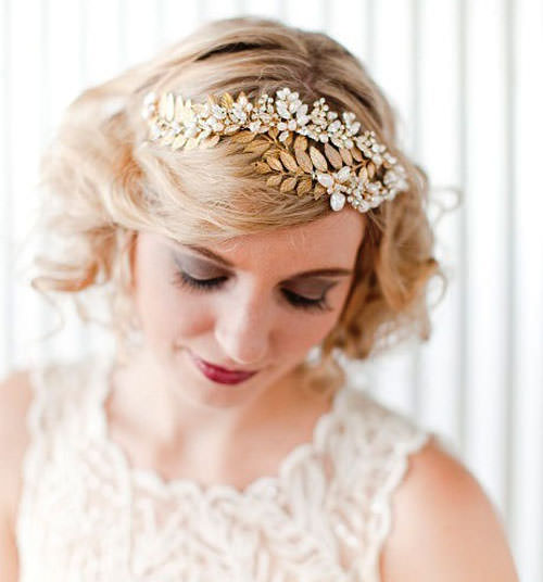 Short Hairstyles For Wedding Bride: Wedding Hair At COUPE Hairdressers, Sunninghill, Ascot