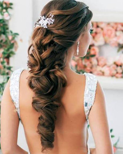 Image result for wedding hairstyle