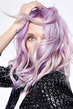 Lilac Hair Colour -  lilac19