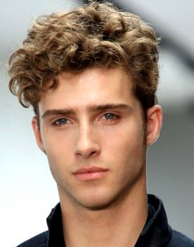 Long Curly Top & Short Sides