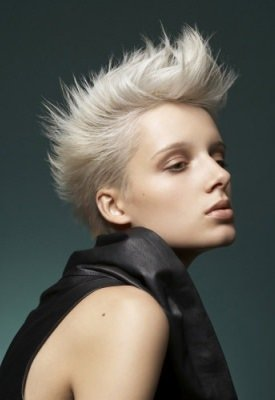 ladies-short-blonde-spikey-funky-hair-style-cut-new-year