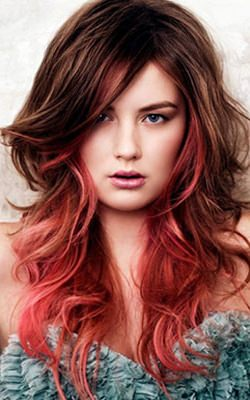 long-messy-red-ombre-hair